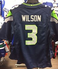Men's Seattle Seahawks Russell Wilson Limited Jersey NFL Football Small Home