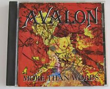 Avalon : More Than Words (Metal CD 1994)