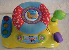"""Vtech V-Tech Around Town Baby Driver Toy ABC's Learning Works 10"""" x 6"""""""