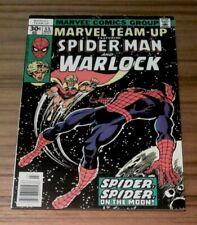 MARVEL TEAM-UP #55 9.2 NM- (MAR. 1976) FEATURING SPIDER-MAN & WARLOCK