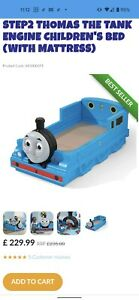 Thomas the tank engine toddler bed with mattress