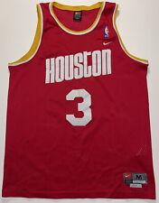 Rare VTG Nike Houston Rockets Steve Francis 3 Swingman Jersey Mens M Sewn Red