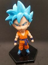 Dragon Ball Z SUPER 4 INCHES Figure Super Saint God Blue Goku Free Shipping