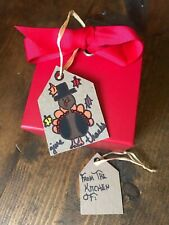 Handmade Up-Cycled Thanksgiving Gift Tags-Cardboard-Turkey-From the Kitchen Of