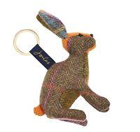 Joules Tweedle Keyring (Hare)