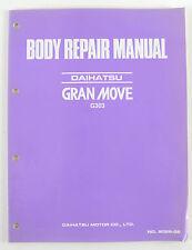 Daihatsu Grand Move G303 Dec 1996 factory body repair manual