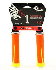 ODI AG-1 Aaron Gwin Signature Lock-On MTB/DH Bike Grips 135mm, Orange Yellow