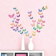 Decowall Butterflies Nursery Kids Removable Wall Stickers Decal DS-8022