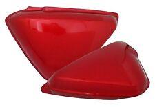 Honda CB100 CB125S Side Cover Set Ruby Red 11-020