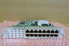 CISCO SM-ES3G-16-P 16-Port Gigabit POE Layer 2/3 Enhanced EtherSwitch Module SM