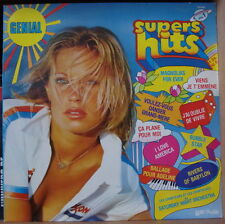 SATURDAY NIGHT ORCHESTRA GENIAL SUPERS HITS VOL.1  CHEESECAKE COVER FRENCH LP