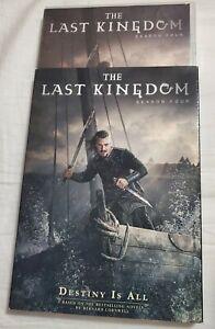 The Last Kingdom Season Four 4 (DVD Box Set) New + Slipcover
