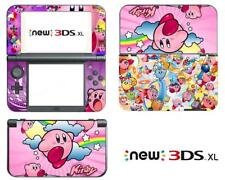 Anime Pokemon Kirby Cute Vinyl Decals Skin Stickers for Nintendo New 3DS XL 2015