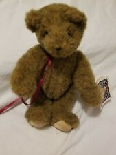 Vermont Teddy Bear Company Jointed Honey Brown Fur 10""