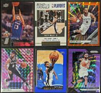 Lot of (6) Patty Mills, Including Road/Finals /2017, UD Rookie, Mosaic/Prizm SP