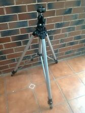 Silver Manfrotto 058 Professional tripod with ball head.