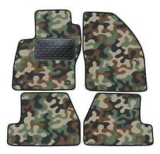 Armee-Tarnungs Autoteppich Autofußmatten Auto-Matten für Ford Focus III ab 2011