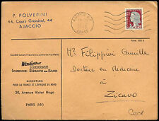 France 1962 Commercial Cover #C37963
