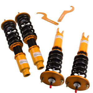 Coilover Coilovers Kit  For Honda Accord 1990-1997 Acura 97-1999 Shock Absorber
