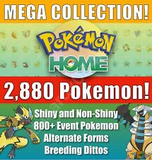 POKEMON HOME| All Pokemon | COMPLETE Living Dex - 2,880 Total! Gen 1-7 ALL LEGAL