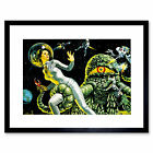 Drawing 1969 The Green Slime New Art Picture Framed Wall Art Print