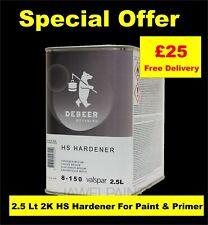 Debeer 2K HS Medium/Slow Hardener Air Dry for: 2K Paint-Primer-Lacquer 2.5Litre