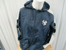 VINTAGE PRO-PLAYER NEW YORK YANKEES MEDIUM ZIP-UP SEWN WINDBREAKER JACKET 90s