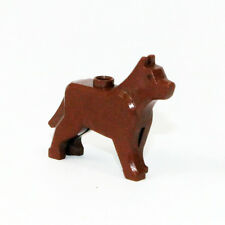 Lego  Hund Dog Wolf Grim 48812 braun Reddish Brown 8409 9247 7637 7744 10176 A3