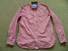 JOULES RED GINGHAM CHECK SHIRT LARGE
