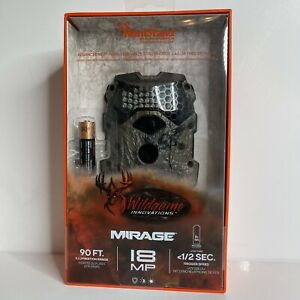 NEW -Wildgame Innovations Mirage 18 720p 18MP Infrared Trail Camera (M18i8w26-9)