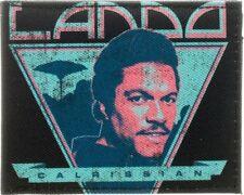Star Wars Lando Calrissian Retro Bi-Fold Licensed Wallet Black New