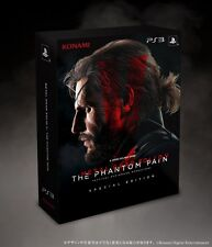 NEW PS3 METAL GEAR SOLID V THE PHANTOM PAIN Special edition JAPAN PlayStation3
