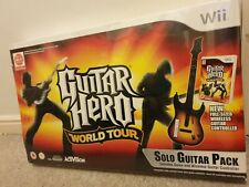 Guitar Hero World Tour-Solo Paquete De Guitarra, Nintendo Wii, Nuevo Sellado