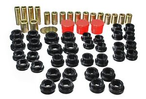 Energy Suspension Control Arm Bushing Set Black Rear for 03-09 Nissan 350Z