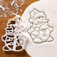 Weihnachten Teig Plätzchen Set Mit 2 Kupfer Schneemann Keksausstecher