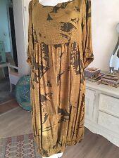 hippie kleid Vintage Stoffe Tunikakleid Hängerchen Gr 38 Hm Neuwertig Ungetragen