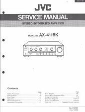 JVC ORIGINALE Service Manual per ax-411