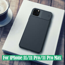 For Apple iphone 11/11 Pro Max Nillkin Slide Camera Lens Protection Case Cover