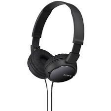 SONY MDR-ZX110B, On-ear Kopfhörer, Schwarz