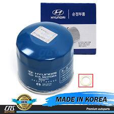 Genuine Engine Oil Filter & Washer for Hyundai Kia Oem 2630035503�����