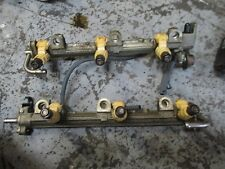 2004 Yamaha 4 stroke F225TURC outboard fuel rail & injector 69j-13170 69j-13761