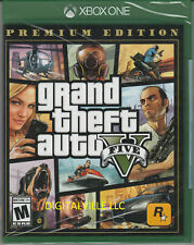 Grand Theft Auto V Premium Evdition Xbox One Brand New Factory Sealed GTA 5