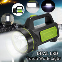 135000LM LED RECHARGEABLE WORK LIGHT TORCH CAMPING SPOTLIGHT LAMP MODEL