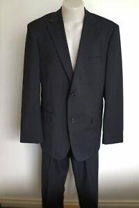 "trenery black wool suit…size 40, 36"" waist…vgc..."