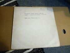"""John Entwistle - Whistle rymes -  12""""lp Acetate mega Rare Vgc/vgc+ .The who"""