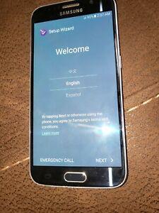 Samsung Galaxy S6 SM-G920V- 32GB - Black (Unlocked) Smartphone