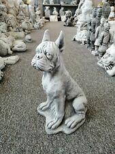 Boxer Hund Skulptur