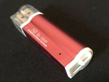 USB 2.0 All in One Memory Card Reader For : MICRO-SD SD TF SDHC M2 MMC - Pink