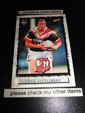 2000 SELECT NRL CARD NO.108 CRAIG FITZGIBBON SYDNEY ROOSTERS