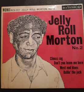 Jelly Roll Morton No 2 Vinyl EP